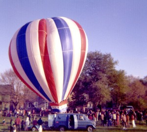 Hot air balloon at Kick-Off