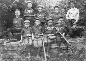 Lopez 1905 Baseball Team