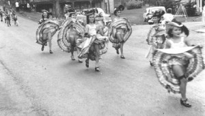 1955 Parade Can-Can girls