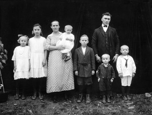 The Mattichak Family (about 1921)