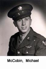 McCobin, Michael USAAF