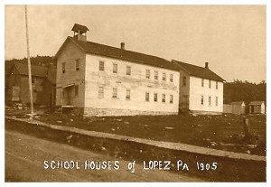 The first Lopez Schools 1905