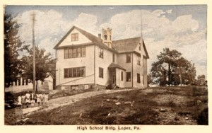 The last Lopez school building