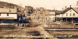 Main Street looking west 1906